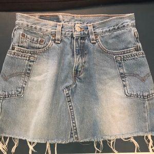 Dresses & Skirts - Levi mini jean skirt